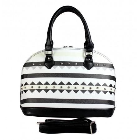 Aztec Print Bowling Bags - Black - BG-TRO5234BK