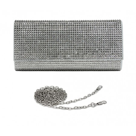 Evening Bag - Jeweled Acrylic Beads w/ Flap