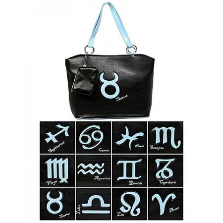 Horoscope Tote Bags -BG-HS971BK-BL