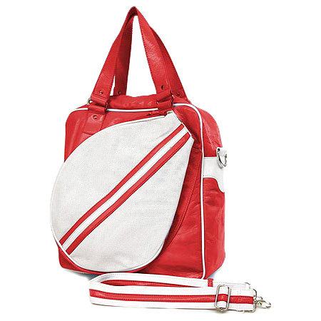 Sport bag w/ Tennis Racket Holder - Red -BG-TE001RD