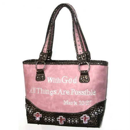 Western Scripture Bible Verse Purse