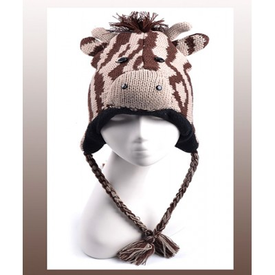 Animal Hat – Knitted Giraffe - HT-AHT2530