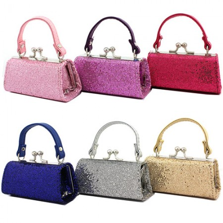 Lipstick Case -  Sequined Print - 12PCS/PACK