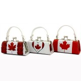 Lipstick Case -  Maple Leaf Logo Print - 12PCS/PACK
