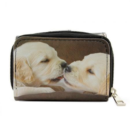 Tri-Fold Wallet - Dog Print - WL-197DOG1-1
