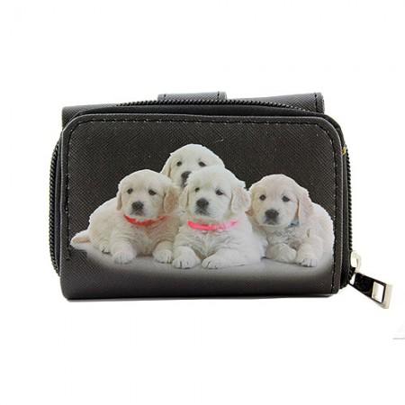 Tri-Fold Wallet - Dog Print - WL-197DOG1-6