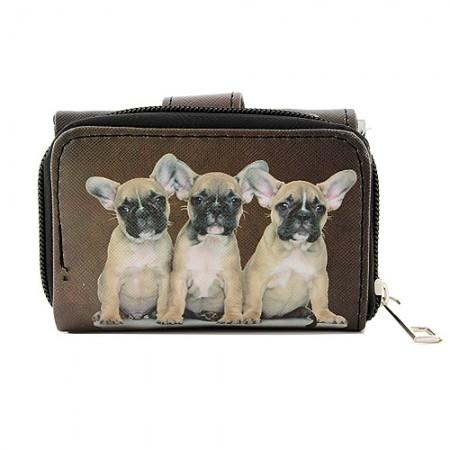 Tri-Fold Wallet - Dog Print - WL-197DOG2-5